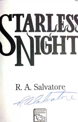 Image for FORGOTTEN REALMS: STARLESS NIGHT (SIGNED)