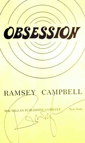Image for OBSESSION (SIGNED)