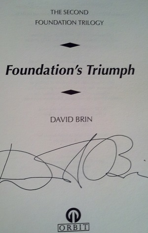 Image for FOUNDATION'S TRIUMPH (SIGNED)