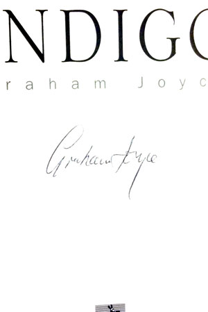 Image for INDIGO (SIGNED)