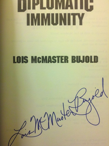 Image for DIPLOMATIC IMMUNITY (SIGNED)