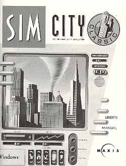 Image for SIM CITY CLASSIC FOR WINDOWS (PC GAME AND USER MANUAL)