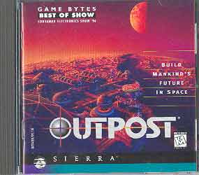 Image for OUTPOST (PC GAME & MANUAL)