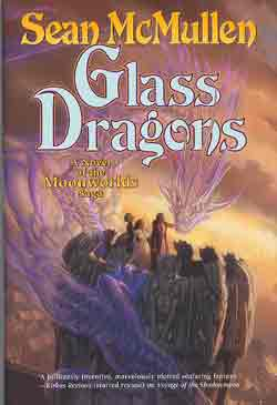 Image for GLASS DRAGONS: A NOVEL OF THE MOONWORLDS SAGA (SIGNED) by McMullen and Lockwood
