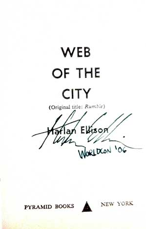 Image for WEB OF THE CITY (SIGNED)