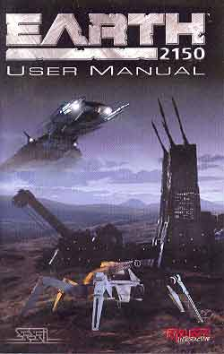 Image for EARTH 2150 (USER MANUAL)