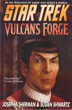Image for STAR TREK: VULCAN'S FORGE
