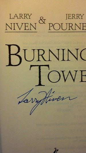 Image for BURNING TOWER (SIGNED)