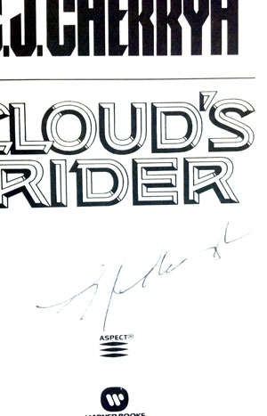 Image for CLOUD'S RIDER (SIGNED)
