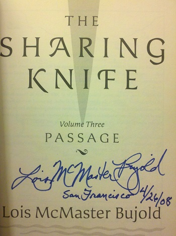 Image for SHARING KNIFE [THE]: PASSAGE (SIGNED)