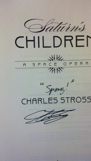 Image for SATURN'S CHILDREN (SIGNED)