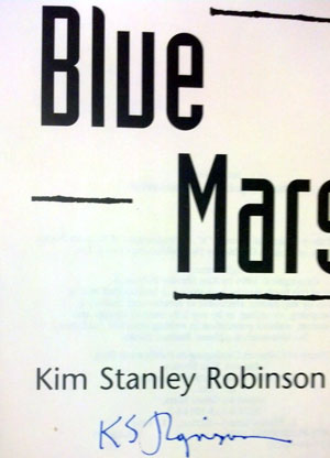 Image for BLUE MARS (SIGNED)