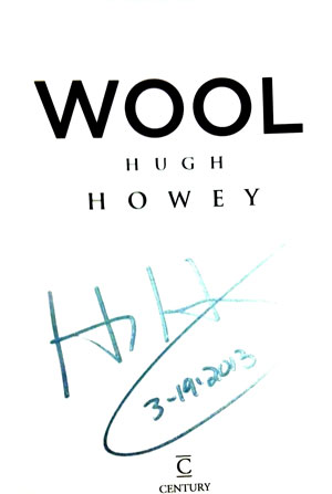 Image for WOOL (SIGNED & DATED)