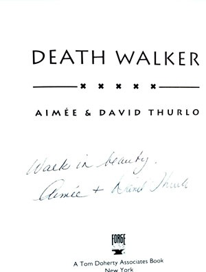 Image for DEATH WALKER: AN ELLA CLAH MYSTERY (SIGNED)
