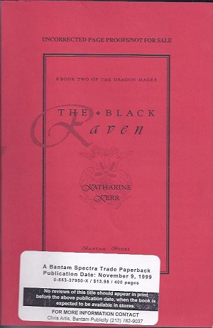 Image for BLACK RAVEN [THE] (SIGNED)