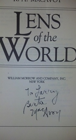 Image for LENS OF THE WORLD (SIGNED)