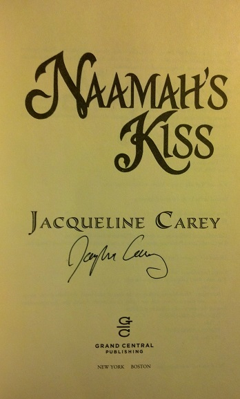 Image for NAAMAH'S KISS (SIGNED)