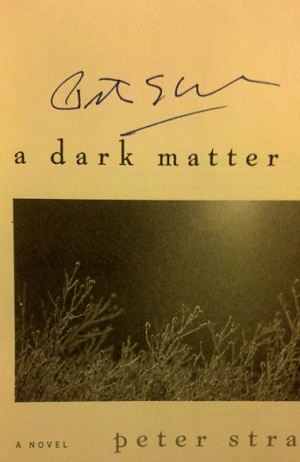 Image for A DARK MATTER (SIGNED)