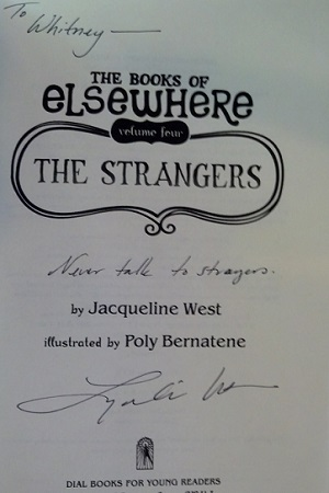 Image for STRANGERS [THE]: THE BOOKS OF ELSEWHERE VOLUME FOUR (SIGNED)