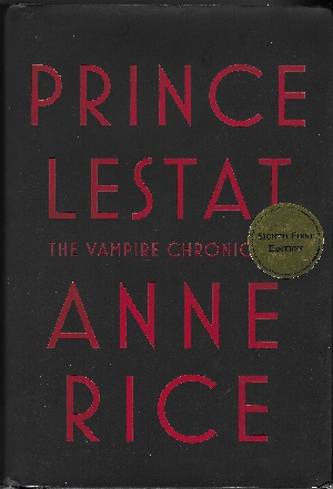 Image for PRINCE LESTAT: THE VAMPIRE CHRONICLES (SIGNED)