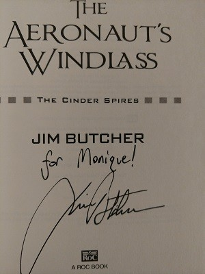 Image for AERONAUT'S WINDLASS [THE]: THE CINDER SPIRES (SIGNED)