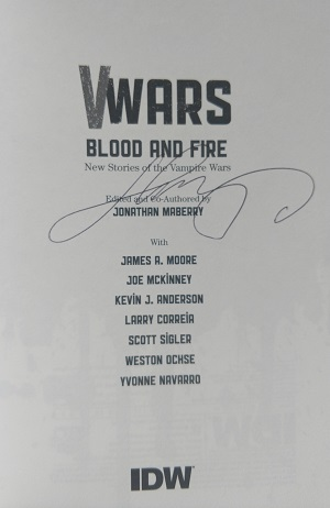 Image for V-WARS: BLOOD AND FIRE (SIGNED)