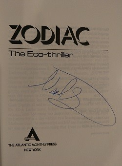 Image for ZODIAC: THE ECO-THRILLER (SIGNED)