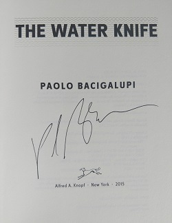 Image for WATER KNIFE [THE]: A NOVEL (SIGNED)