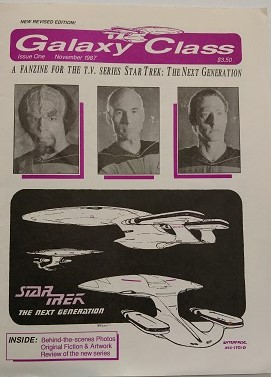 Image for GALAXY CLASS: STAR TREK THE NEXT GENERATION FANZINE ISSUE ONE