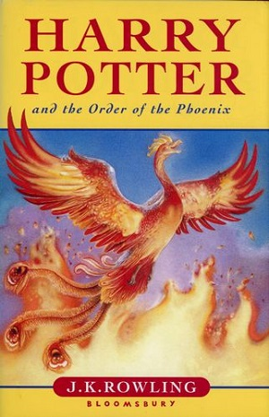 Image for HARRY POTTER AND THE ORDER OF THE PHOENIX (CHILDREN'S UK EDITION)