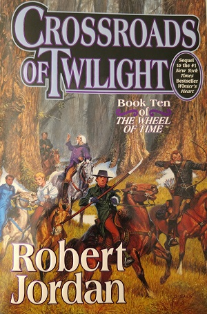 Image for CROSSROADS OF TWILIGHT: BOOK TEN OF THE WHEEL OF TIME (SIGNED)