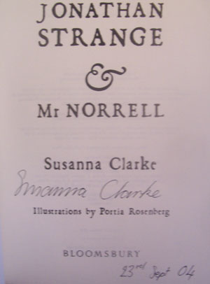 Image for JONATHAN STRANGE AND MR. NORRELL: A NOVEL (SIGNED & DATED)