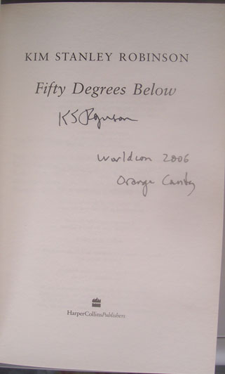 Image for FIFTY DEGREES BELOW (SIGNED)