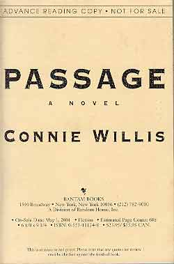 Image for PASSAGE: A NOVEL (SIGNED)