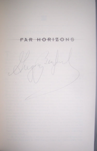 Image for FAR HORIZONS (SIGNED)