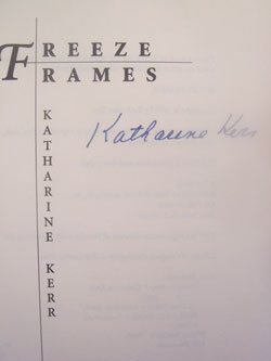 Image for FREEZE FRAMES (SIGNED)