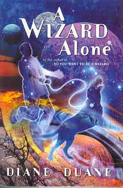 Image for A WIZARD ALONE